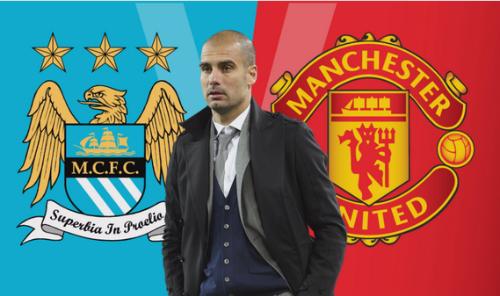 Pep có thể chuyển đến Man City hoặc Man Utd.