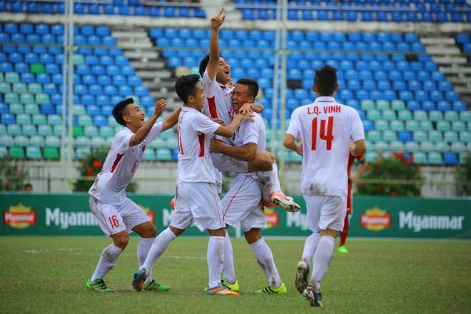 U18 Việt Nam - U 18 Myanma cuộc đối đầu với U18 Thái Lan