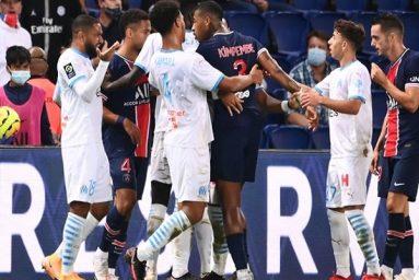 PSG 0-1 Marseille: Màn hỗn chiến của Neymar với 5 thẻ đỏ